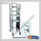 Aluminum Bun Bake Pan tray rack Trolley Bread Baker Bakery