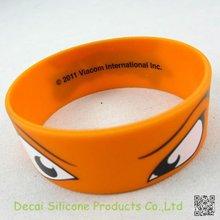 1 inch Big Eye with company logo silicone wrist band