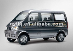dongfeng 7 seats sliding door type1310cc mini vans for sale