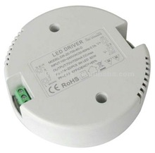 Round shape 42w dimmable led drive constant current and constant voltage