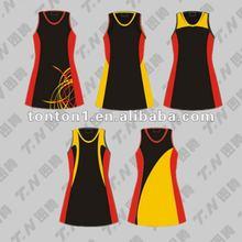 custom sublimated netball uniform bodysuit cheap