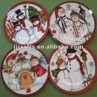 Christmas decoration charger plate