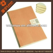 school cute wood cover notebook