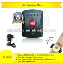 2012 newest GSM emergency alarm for old/Children/Patient