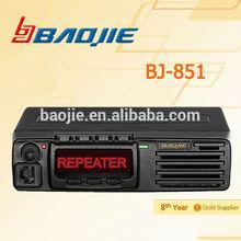 Two Way Radio Full Duplex 10W UHF Signal Repeater mini duplex uhf repeater BJ-851