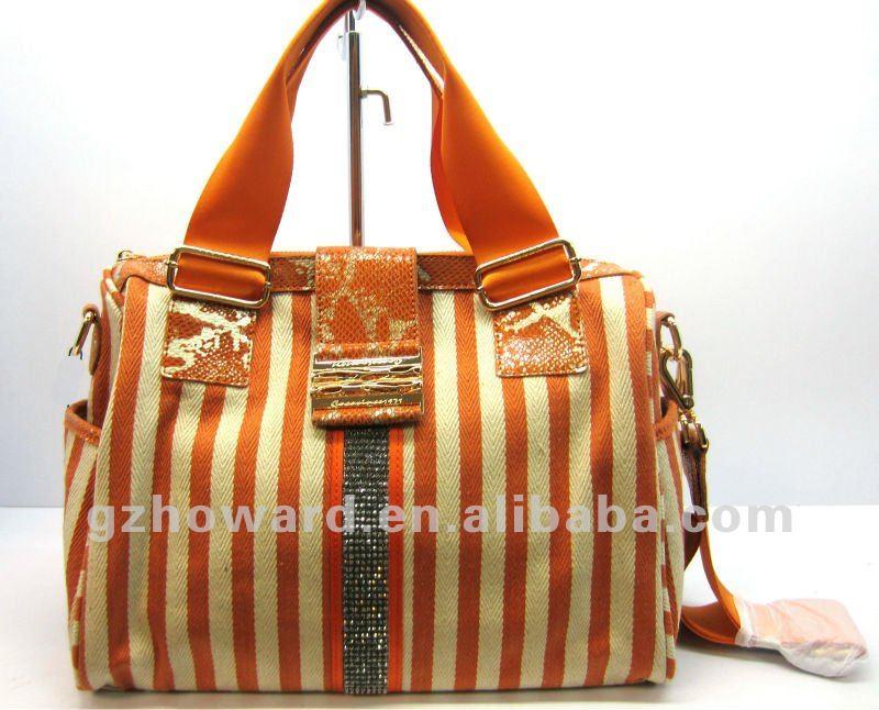 Crus saco de lona pintados à mão saco de mão da lona
