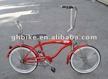 20 coaster brake CE Back saddle red lowrider bike