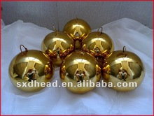 with hoop hanging brass ball 100mm