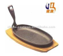 cast iron steak plates
