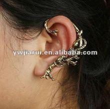 2013 New style stud earrings fashion designers snack on the tree left ear cuff stud earring for girls EC6
