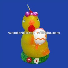 easter chick with egg candle for wholesale