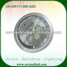 High power 5w AR111 G53 led lighting