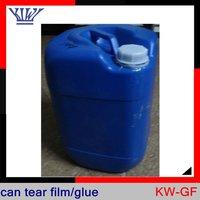 water transfer Screen printing can tear film/glue