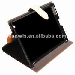 high quality cover for iPad 2/ new iPad cover