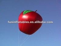 Apple shape helium balloons for advertising