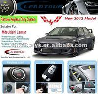 2012 Hot Selling Smart Keyless Entry System Car Alarm for Mitsubishi Lancer