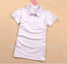 Hot sale ! 2012 new design cotton polo ladies't shirt