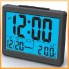DIGITAL ALARM SNOOZE CALENDAR LCD CLOCK