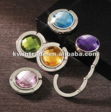 fashionable bag hanger with crystal stones