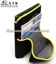 Latest Design Waterproof 3.5mm Neoprene Laptop Sleeve For IPAD3 With Lycra Binding