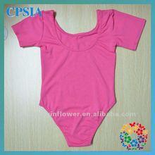 caliente de color rosa bebé leotardo estilo de la manera hermosa bebé leotardo