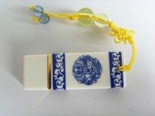 Ceramic Celadon Porcelain USB flash drive 2GB memory stock