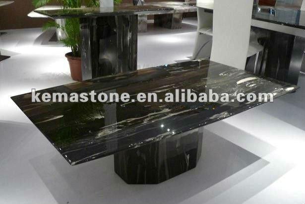 Negro de comedor de m rmol mesa de caf mesas encimeras y - Mesas de marmol precios ...