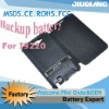 High capacity leather battery case Galaxy Note i9220 for samsung