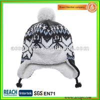 Winter hats with braids BN-0020