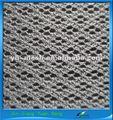 566 de malla transpirable tela 3d con el respaldo de espuma