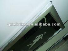 ultrathin aluminum led crystal 2013 photo frame