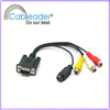 VGA to RCA Component Cable VIDEO Adapter Cord Wire For Laptop RGB LCD