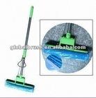 HQ525 new arrivals super absorption magic PVA mop bathroom mop w/ aluminum telescopic fork