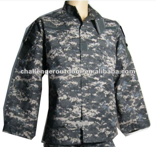 ... military clothing > ACU uniform > Black ACU camouflage Military