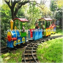 Popular Amusement Park Equipment Kiddie Rides Train