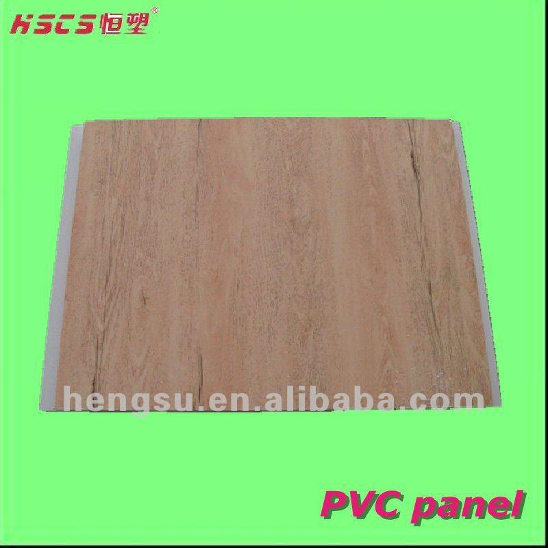 Factory direct sale low price wood design pvc ceiling - Lambris pvc rouge ...