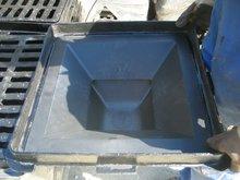 EN124 tanker manhole cover of ductile iron