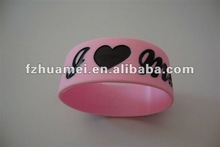 Sport&gift&promation silicone bracelet