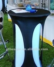 2012 modern design spandex stretch bistro table cover bistro slipcover lycra decorative table covers