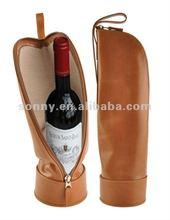 Brown wine bag for christmas gift