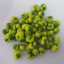 wasabi coated green peas
