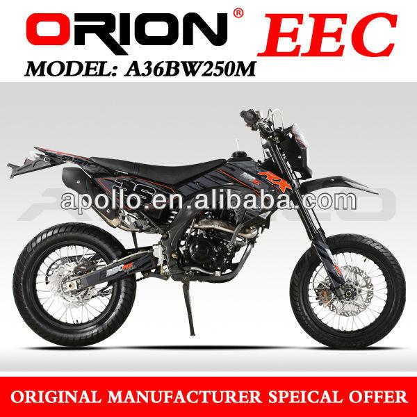 China APOLLO ORION EEC On Road Motorcycle Enduro Super Motard 50cc/125cc/250cc