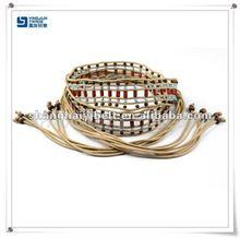 colorful women fabric bohemian cotton bead belt YJ8002