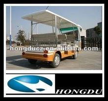 hongdu hot sales 8 seats mini electric shuttle bus