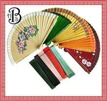 Spanish wood folding fan