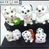 pet dog vinyl cartoon toys for children