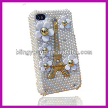 Hot selling diamond phone cases for iphone 4 BY-774