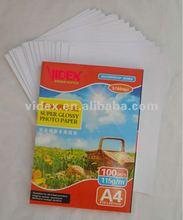 200gram glossy photo paper for inkjet printing