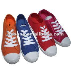 Classic style low cut casual canvas shoes men 2012
