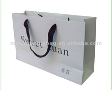 White High Quality luxury paper shopping bag/Gift Bag